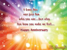 The Greetings - Greet Your Loved One, Lover in Morning Marriage Anniversary Quotes, Wedding Anniversary Wishes, Happy Anniversary, Love You, Feelings, Happy Brithday, Te Amo, Je T'aime, Wedding Day Wishes