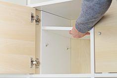 Ikea Kallax Tür mit Extrafach ausstatten|News|BLOG| New Swedish Design