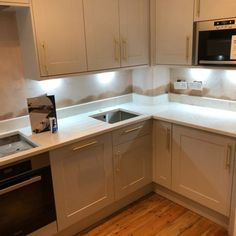 Monaco Carrara- Romford, Essex - Rock and Co Granite Ltd Marble Stones, Carrara, Kitchen Styling, Monaco, Granite, Kitchen Cabinets, Traditional, Home Decor, Marble