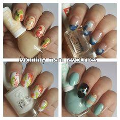 Here are my #monthlymanifavourites for June. ������. Do you have a favourite? ��. . . #nails #nailstagram #instanails #ignails #myfavorites #favemani #myfaves #ulubieńcy #june #nailart #craftyfingers #freehand #hibiscus #flamingo #waves #jasmine #fala #hibiskus #flaming #summernailart #wakacyjnemani #polishgirl #paznokcie #uñas #nägel #nailpolish #misssporty #goldenrosepolska #evelinecosmetics http://misstagram.com/ipost/1549170506576785032/?code=BV_wl4tBW6I