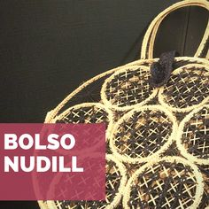 Bolso Nudillo Alex And Ani Charms, Straw Bag, Projects To Try, Bracelets, Bags, Jewelry, Types Of Tissue, Tejidos, Knots