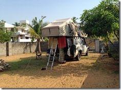 Douche froide a Pondicherry