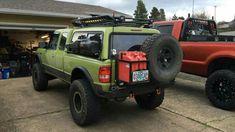 Pickup Truck Camper Shell, Truck Camper Shells, Pickup Camping, Truck Camping, Ford Trucks, Pickup Trucks, 4x4 Ford Ranger, Small Pickups, Nissan 4x4