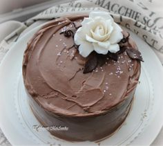 Suklaata ja ruusua Pudding, Cake, Desserts, Food, Tailgate Desserts, Deserts, Custard Pudding, Kuchen, Essen