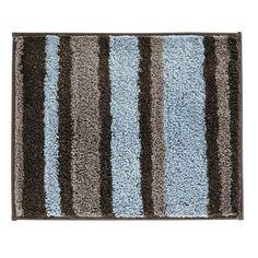 InterDesign Stripz Microfiber Bath Rug, 21-Inch by 17-Inch, Mocha/Gray InterDesign http://www.amazon.com/dp/B00I2HXTYM/ref=cm_sw_r_pi_dp_4qUlub1A6Q9R8