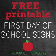 first day of school sign template - 1000 images about first day of school signs on pinterest