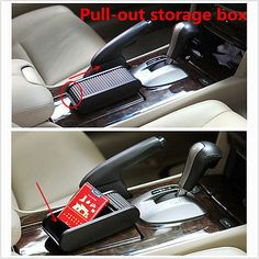 Pocket sliding dash phone pen #money coins keys case #storage box holder #contain,  View more on the LINK: http://www.zeppy.io/product/gb/2/112104965254/