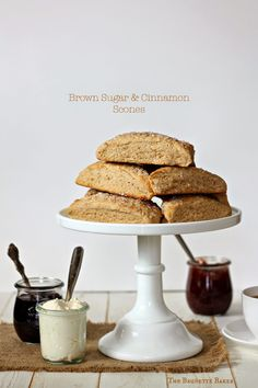 Brown Sugar & Cinnamon Scones.