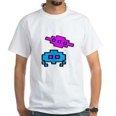 Space Retro Characters T-Shirt > MEN'S LIGHT & DARK SHIRTS > Express Creations