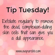 Tip Tuesday from Avapure Beauty Routine Tips, Beauty Hacks, Body Shop At Home, The Body Shop, Lime Light By Alcone, Facebook Engagement Posts, Fm Cosmetics, Interactive Posts, The Ordinary Skincare
