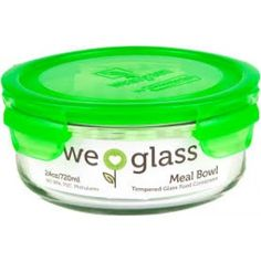 Keep your food fresh and free of harmful chemicals with the eco-chic Wean Green 24 oz. Perfect for meals on-the-go, this durable tempered glass container features a leak-proof silicone seal to prevent spills and lock in flavor. Home Water Filtration, Humming Bird Feeders, Drinking Glass, Glass Containers, Coffee Cans, Food Storage, Health And Wellness, Canning, Green