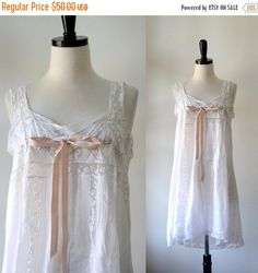 Lace Victorian Nightgown by $40 SassySisterVintage