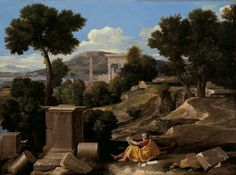 Nicolas Poussin (1640), Landscape with St. John on Patmos