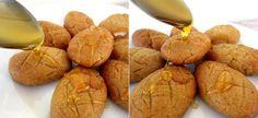 Traditional Greek Honey Cookies (Melomakarona) Greek Desserts, Greek Recipes, Melomakarona Recipe, Cookie Dough Ingredients, Oven Pan, Honey Cookies, Greek Olives, Freshly Squeezed Orange Juice