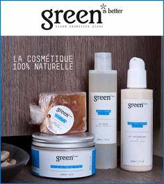 Green Is Better Cosmetics, une marque de cosmétiques 100% naturelle et sans additifs chimiques