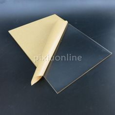 1pc J139 30*20cm Acrylic Board  Full Thickness 5mm Double-faced Cover film Transparent Plastic Board for DIY used Free Shipping #Affiliate