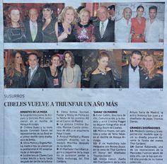 Articulo en el Mundo, firmado por M.Eugenia Yagüe,donde Pepe Criado, propietario de Objetos con experiencia,asiste a la entrega de Premios AD (Architectural Digest Spain).