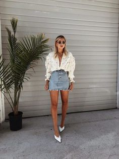 45 excellent ideas to wear mini skirts womens fashion летняя Simple Summer Outfits, Spring Outfits, Trendy Outfits, Fashion Outfits, Fashion Tips, Emo Outfits, Diy Fashion, Batman Outfits, Photoshoot Fashion