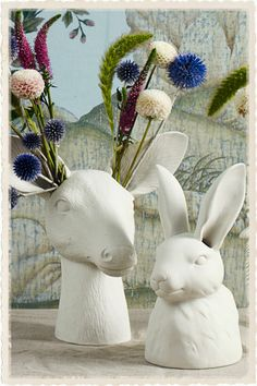 Vases – Home Decor : Cholet Hollow Vase - Decor Object Animal Heads, Noel Christmas, Deco Table, Ceramic Pottery, Kitsch, Home Accessories, Clay, Crafts, Inspiration