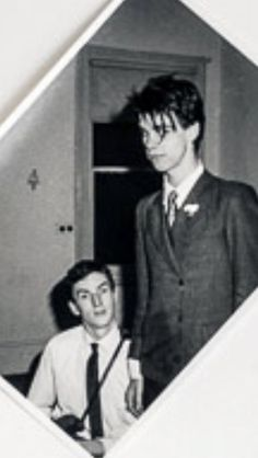 Nick cave and mick hs  Nick cave and mick harvey