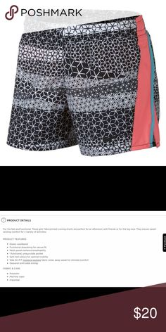 e96c15571bd30 NIKE GIRLS DRY-FIT PRINTED RUNNING SHORT Nike girls dri-fit printed running  short. Please refer the picture for product details