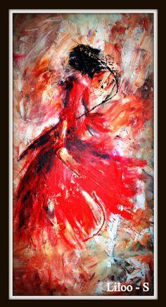 Pinterest le catalogue d 39 id es - Peinture les danseuses ...