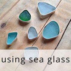 Setting Sea Glass From Kernowcraft