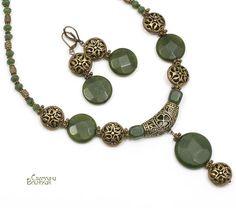 Нефритовая принцесса - Авторские украшения из натуральных камней