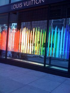 LIVE OAKS: Spotted: window displays {SF Pride}