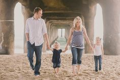 family pose - holding hands while walking :)