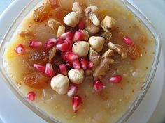 *****  Aşure - a delicious Turkish dessert