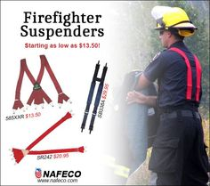 Firefighter Suspenders starting as low as $13.50!