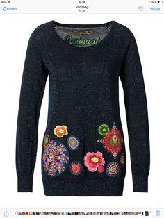 Blij met m'n nieuwe Desigual trui :)
