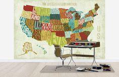 USA Modern - Wall Mural & Photo Wallpaper - Photowall