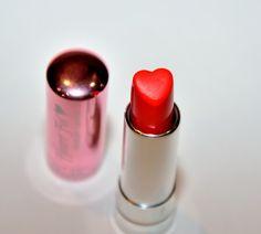 heart lipstick.