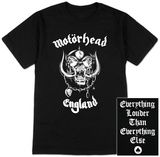 Motorhead - England T-Shirts Metal Shirts, Budget Fashion, Cool Posters, Prints For Sale, Custom Framing, England, France, Cool Stuff, Mens Tops