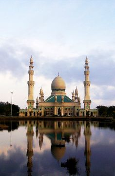 Masjid Kampung Pandan in Kuala Belait, Brunei Darussalam