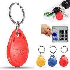 100Pcs 125Khz RFID Proximidad Tarjeta de identificación Key Fobs Token Etiquetas Safe Keyfobs