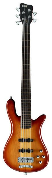Warwick ProSerie Streamer Stage 1 honey sunburst, bass guitar, 5 string #warwick #bass #thomann