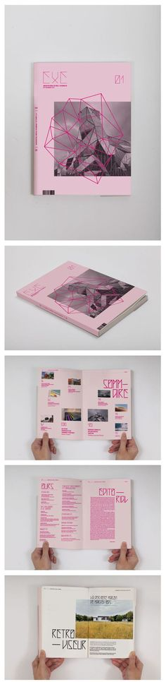 Typography  EXE Magazine on Behance I've always admired this kind of graphics but I don