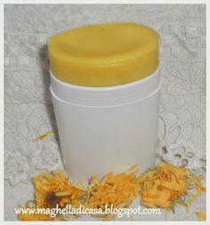 Deodorante in stick fai da te