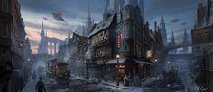 http://alexshatohin.deviantart.com/art/C-O-T-Quiet-Town-452097535