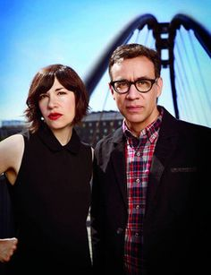 Fred Armisen and Carrie Brownstein (@Carrie_Rachel) reveal the ins and out of #PORTLANDIA