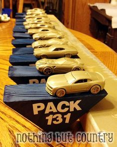 Make Your Own Pinewood Derby Trophy - Cub Scouts | NothingButCountry.com
