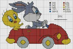 schema titti e bugs bunny by syra1974.deviantart.com on @DeviantArt