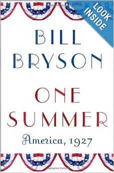 One Summer by Bill Bryson. The story of the summer of 1927 basically sums up America in the 1920s. It's full of politics, baseball, aviation, eugenics, Prohibition, music, Hollywood, and more. The audio version, read by Bryson, is a lot of fun. 5 stars.