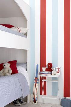 Chic Stripes - Kids' Bedroom Ideas - Childrens Room, Furniture, Decorating (houseandgarden.co.uk)