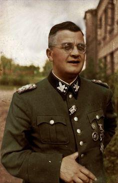 SS-Obergruppenführer Erich von dem Bach-Zelewski, the destroyer of Warsaw.