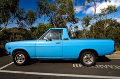 Datsun 1200 Ute Nissan Trucks, Datsun 510, Mini Trucks, Japanese Cars, Free Spirit, Cars And Motorcycles, Old School, Dream Cars, Muscle