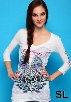 98abc5a95c5 ed hardy long sleeve t-shirt woman-70